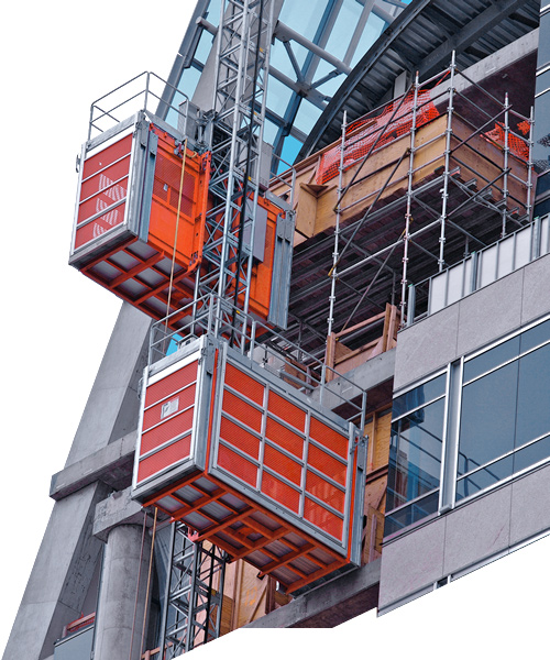 Construction hoist standard c c consulting for Where to get c c cages